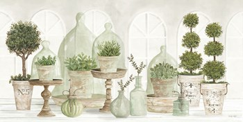Nice and Neutral Plant Collection by Cindy Jacobs art print