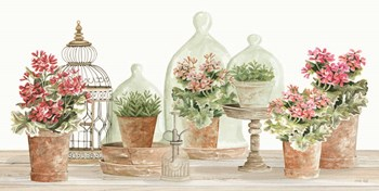 Terracotta Collection II by Cindy Jacobs art print