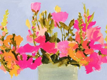 Saturated Spring Blooms I by Victoria Barnes art print