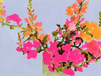Saturated Spring Blooms II by Victoria Barnes art print